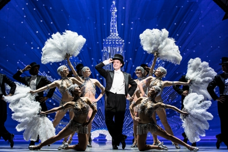 Nick Spangler and the 'An American in Paris' touring company.