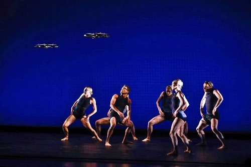 Parsons Dance Company performs in David Parsons' 'The Machines' at Philadelphia's Prince Theater.