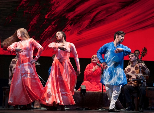 "Mark Morris Dance Group in Mark Morris' ""Layla and Majnun."""