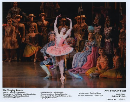 Sterling Hyltin in NYCB's The Sleeping Beauty
