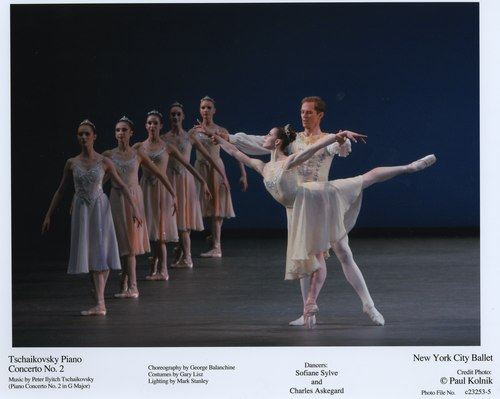 Sofiane Sylve and Charles Askegard in NYCB's Tschaikovsky Piano Concerto No. 2
