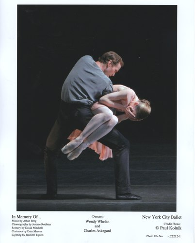 Wendy Whelan and Charles Askegard in NYCB's In Memory Of...