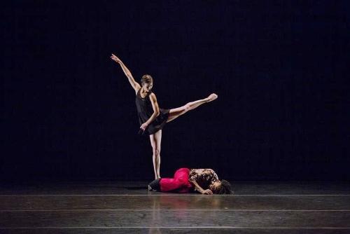 Malpaso dancers in Osnel Delgado's 'Ocaso.'
