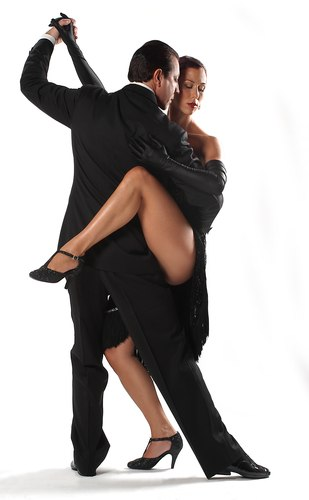 Miguel Angel Zotto and Romina Levin in Tango x 2's 'Su Historia'