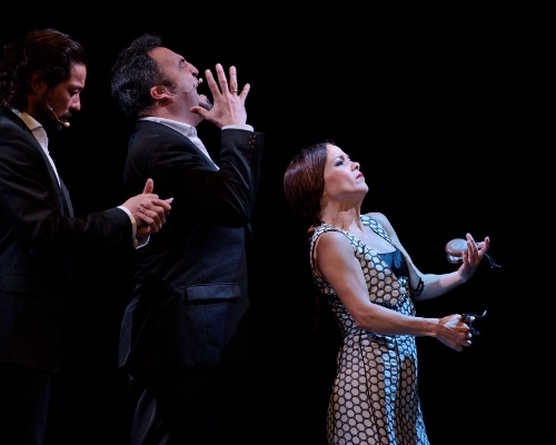 Olga Pericet and company in 'Creations of My Repertory.'