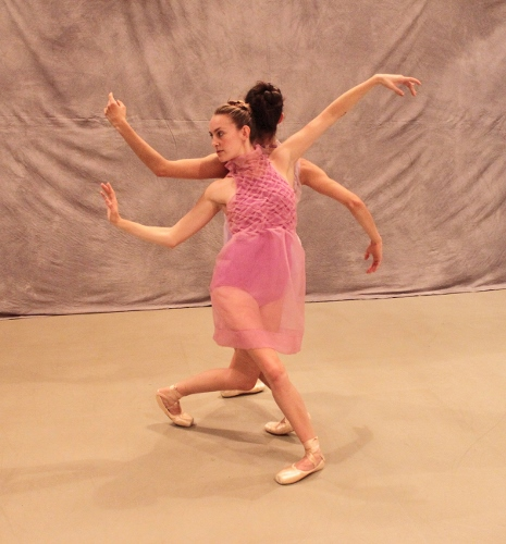(Front) Dancer Amber Neff in 'Amity.'