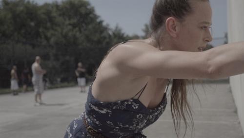 Bobbi Jene develops her new performance in the streets of New York.