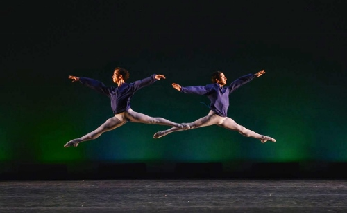 "Rainer Diaz-Martinez (L) and Victor Jarvis in Gladisa Guadalupe's ""Concerto."""