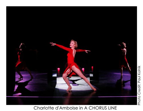 Charlotte d'Amboise in A Chorus Line