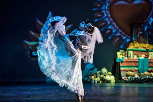 Oakland Ballet Company in Graham Lustig's 'Luna Mexicana.'