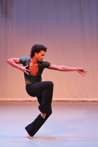 Abdiel Jacobsen in Martha Graham's 'The Rite of Spring.'