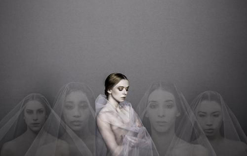 """(Center) BalletMet's Jessica Brown in """"Giselle."""""""