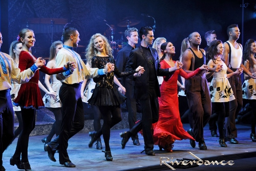 A scene from Riverdance.