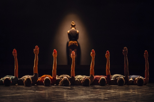 Netherlands Dance Theater 1 in Ohad Naharin's 'The Hole.'