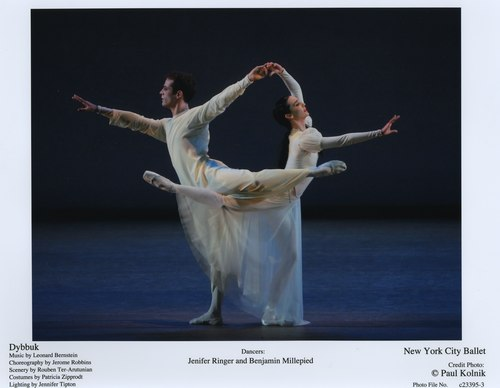 Jenifer Ringer and Benjamin Millepied in NYCB's Dybbuk