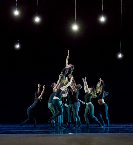 "Verb Ballets in Tommie-Waheed Evans' ""Dark Matter""."