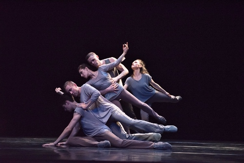 Lar Lubovitch Dance Company in <br>'Something About Night'.