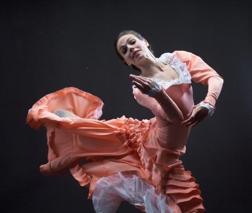 Dance Kaleidoscope's Caitlin Negron as The Bride in 'Appalachian Spring.'