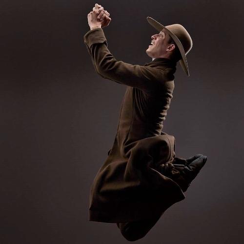 Dance Kaleidoscope's Brandon Comer as The Revivalist in 'Appalachian Spring.'