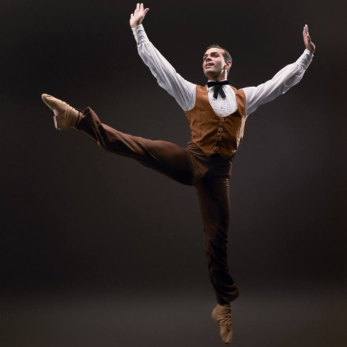 Dance Kaleidoscope's Timothy June as The Husbandman in 'Appalachian Spring.'