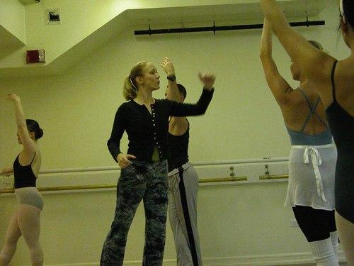Deborah Wingert's Level 7 Ballet Class at Studio Maestro