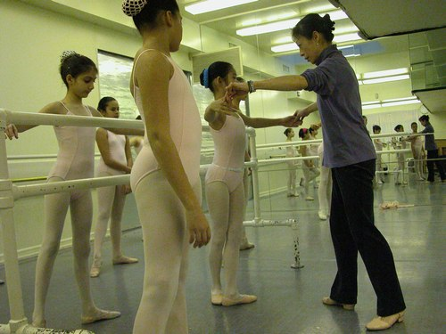 Noriko Hara's Level 3 Ballet Class at Studio Maestro