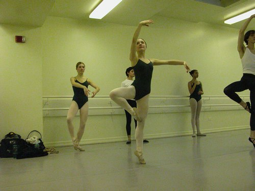 Nadege Hottier's Level 6 Ballet Class at Studio Maestro