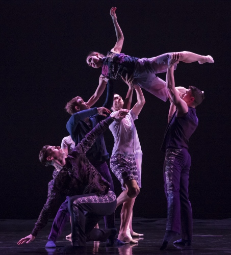 (Archive Photo) Hubbard Street Dance Chicago in 'Cloudline' by Robyn Mineko Williams.