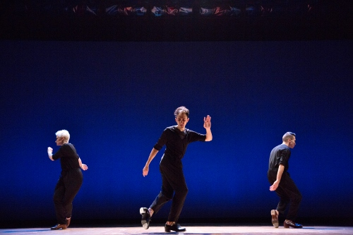 (L-R) Brittany DeStefano, Caleb Teicher and Gabriel Winns Ortiz in 'Variations'.