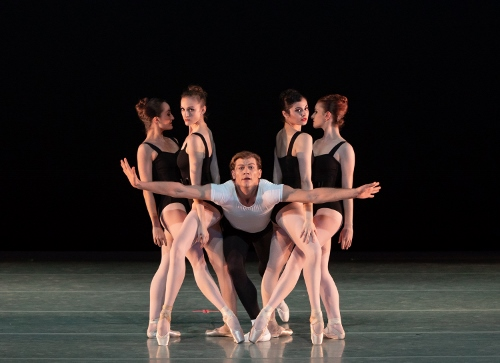 Dancers: Jessica Miller, Mary Ann Schaefer, Shea Johnson, Sierra Levin & Indiana Cot&eacute;<br>Ballet: The Four Temperaments <br>Choreography by George Balanchine (c) The George Balanchine Trust.