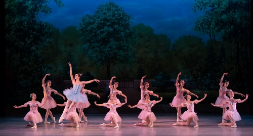 Dancers: Indianapolis Ballet (featured dancer Kristin Toner)<br>Ballet: Raymonda Variations <br>Choreography by George Balanchine (c) The George Balanchine Trust.