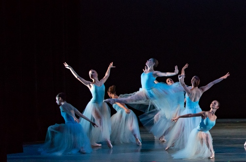 Dancers: Indianapolis Ballet<br>Ballet: Serenade <br>Choreography by George Balanchine (c) The George Balanchine Trust.