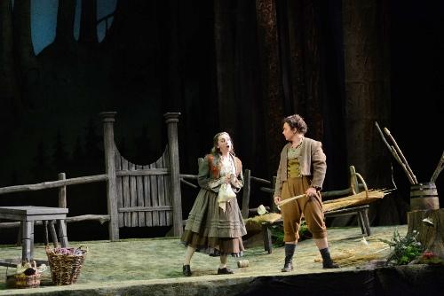Bridget Ravenscraft as Gretel and Ashlyn Brown as Hansel.