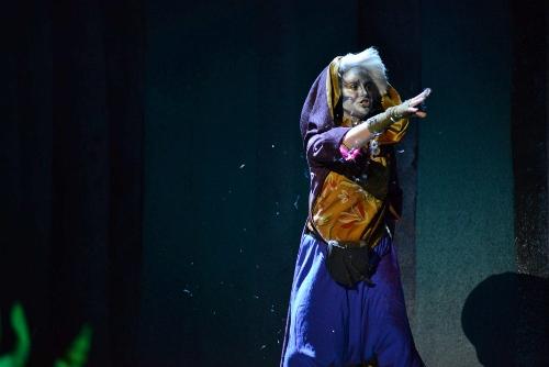 Frances van Vuuren as the Sandman.