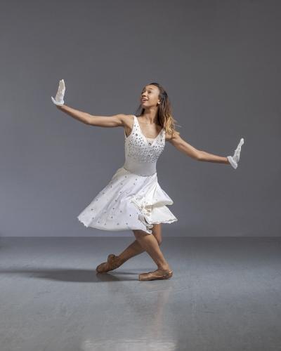 Neos Dance Theatre's Kassandra Lee as Marie in the '1940's Nutcracker.'