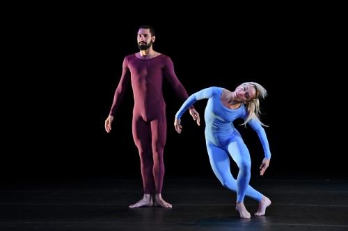 "Malpaso Dance Company in Merce Cunningham's ""Fielding Sixes"" (Event Arrangement) (1980)."