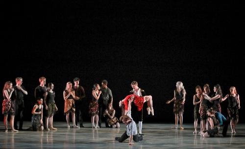 Indianapolis Ballet in Victoria Lyras' 'Carmen'.