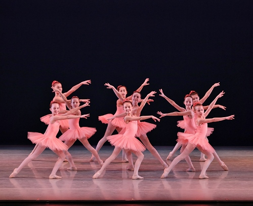 Students from the Indianapolis School of Ballet's Pre-Professional Program shined in Dance of the Hours, part of Indianapolis Ballet's production Love is in the Air, performed Feb. 15-17 at The Tobias Theater at Newfields.