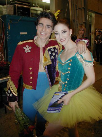 NYC Ballet Stars, Joaquin De Luz and Ashley Bouder