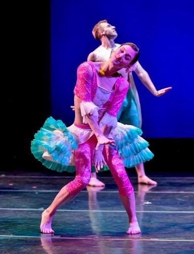 Mariel Greenlee and Stuart Coleman in 'Merry Mozart,' part of 'Funny Bones'.