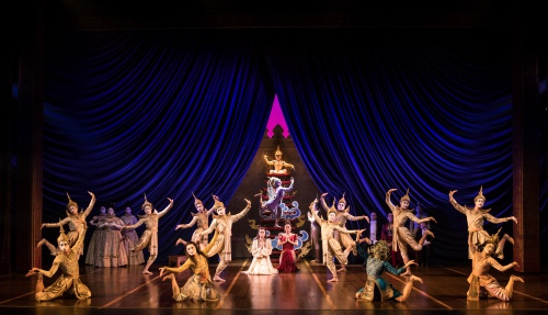 The Company of Rodgers & Hammerstein's THE KING AND I.