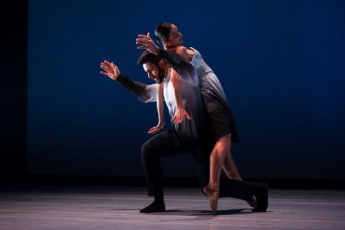 Eila Valls and Jared Bogart in Edwaard Liang's 'El Viaje'.