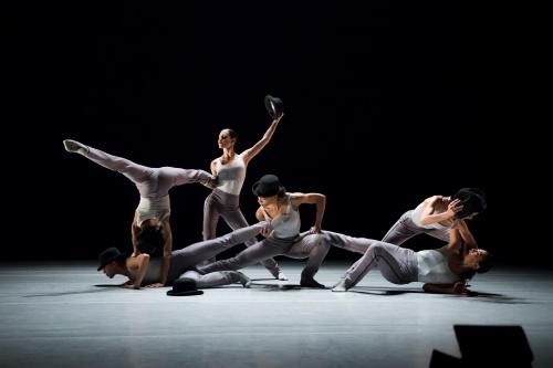 "Ballet Hispánico's all-female cast in Annabelle Lopez Ochoa's ""Sombrerísimo""."