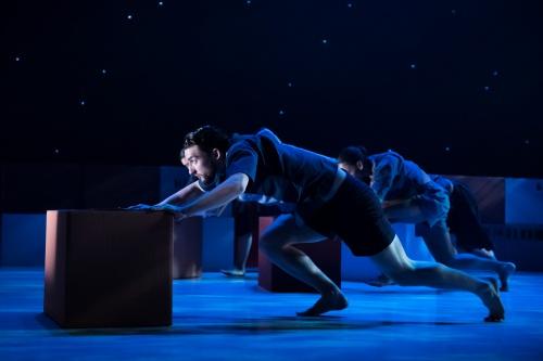 Ballet Hispánico's Chris Bloom in Bennyroyce Royon's 'Homebound-Alaala'.
