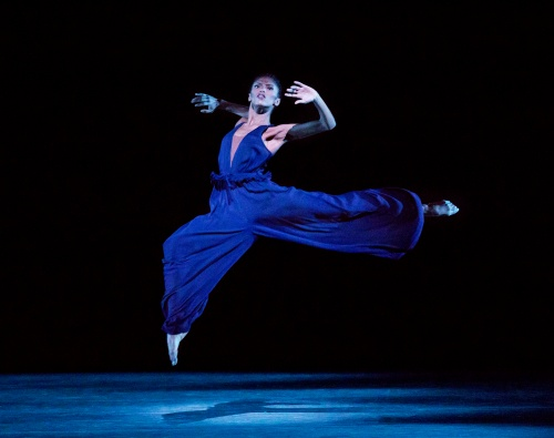 Alvin Ailey American Dance Theater's Jacqueline Green in Jamar Roberts' 'Members Don't Get Weary'.