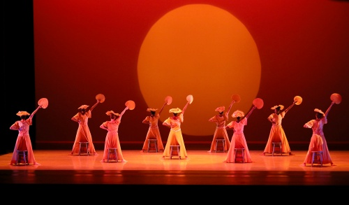 Alvin Ailey American Dance Theater in Alvin Ailey's 'Revelations'.