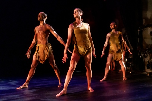"Tracy Dunbar, Daniela Funicello and Thomas Varvaro in Elisa Monte's ""Dreamtime""."