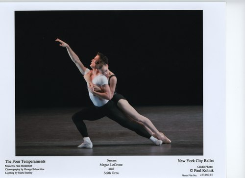 Megan LeCrone and Seth Orza in NYCB's The Four Temperaments