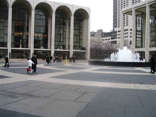 Lincoln Center Plaza
