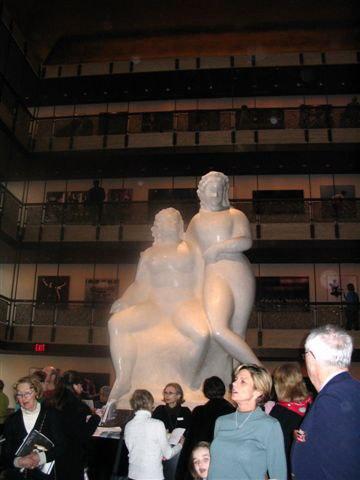 Intermission At Lincoln Center